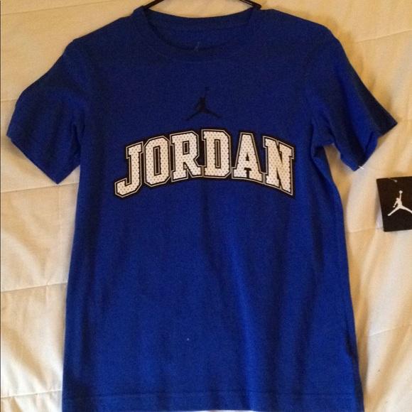 c0bf3d4e69e Jordan Shirts & Tops   Varsity Blue 1012 Shirt   Poshmark